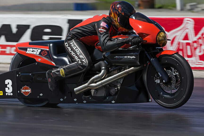 Harley-Davidson NHRA Street Rod Andrew Hines