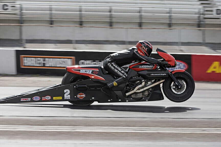 Harley-Davidson NHRA Street Rod Eddie Krawiec
