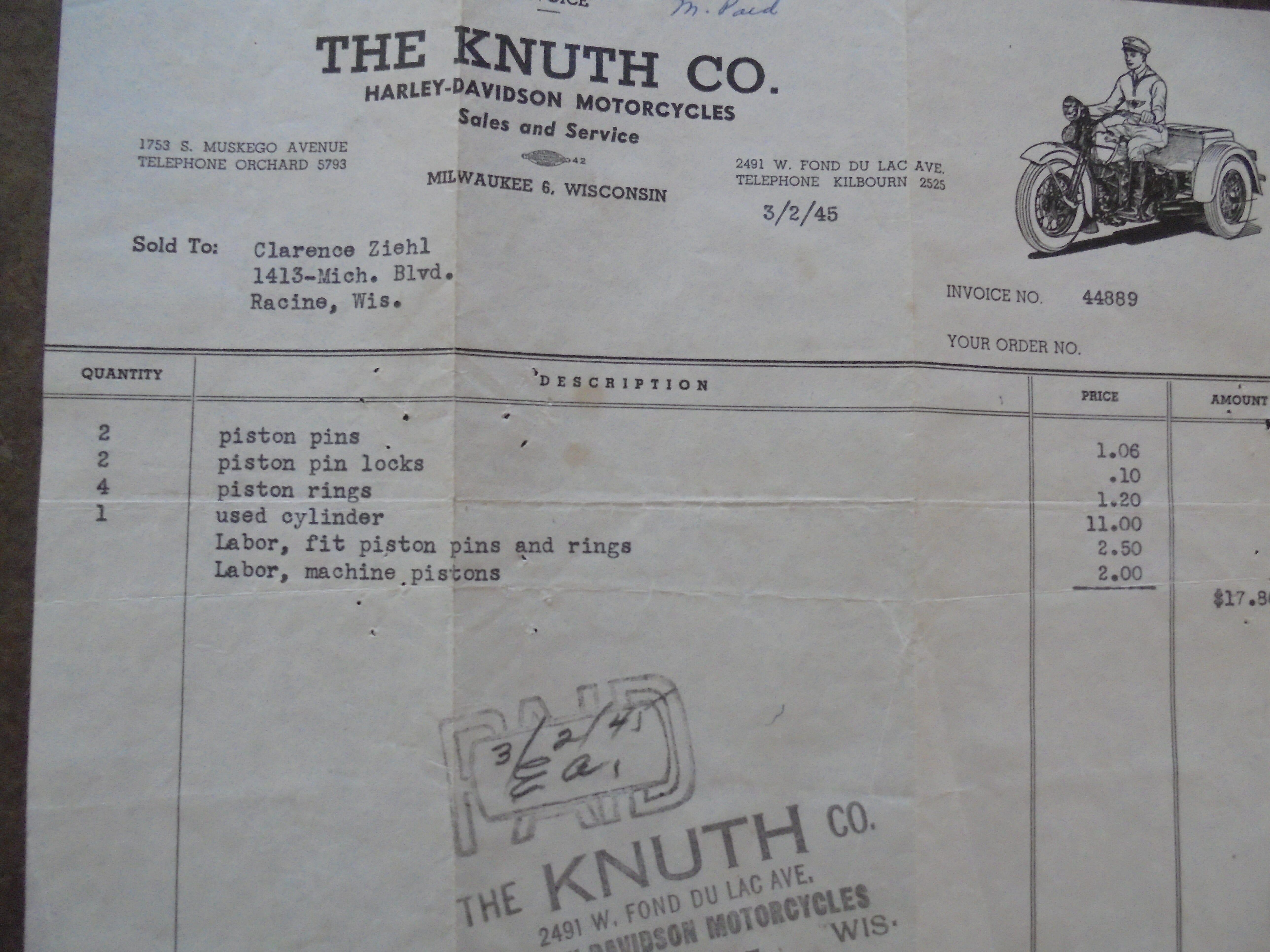 1929 Harley-Davidson® JDH Two-Cam Solo