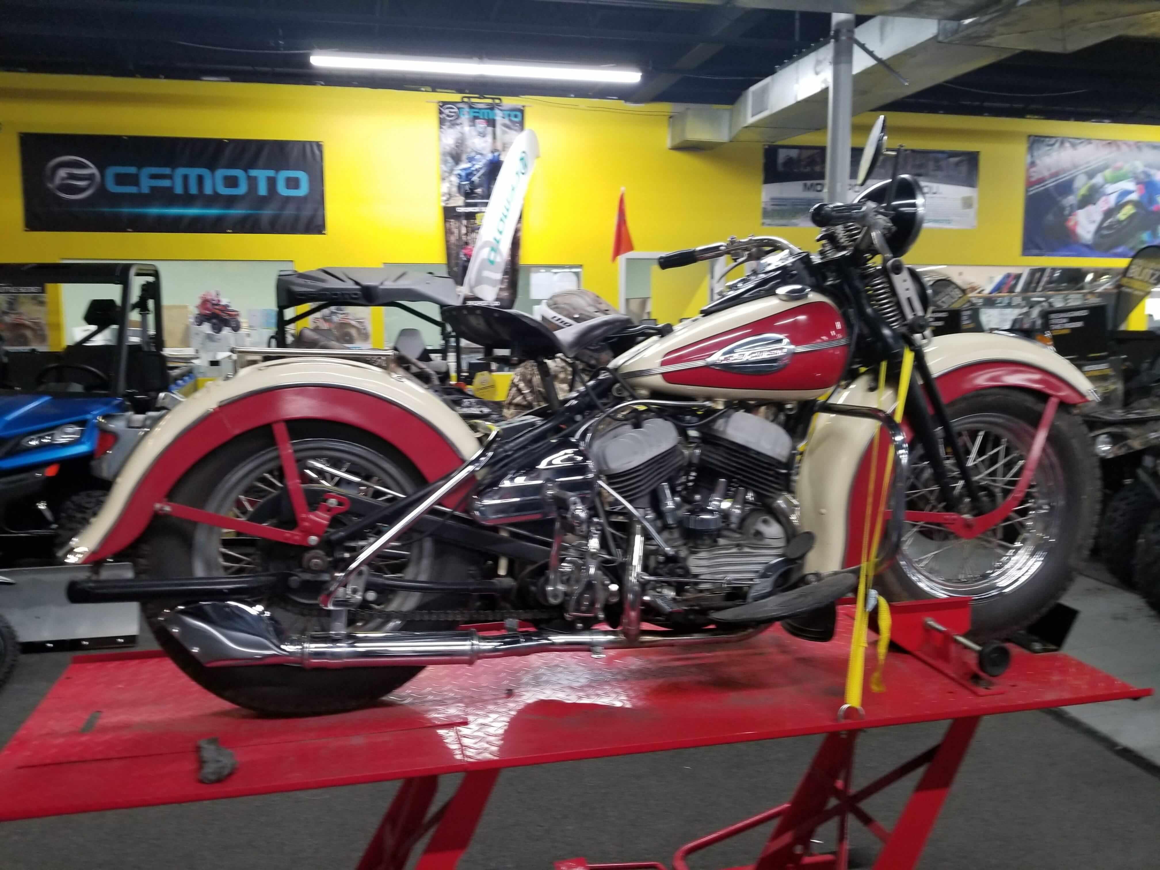 Vintage 1942 Harley Davidson WLC for Sale on Chopperexchange