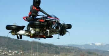 Lazareth Flying Motorcycle (LMV496)