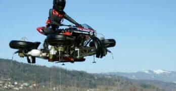 Lazareth Flying Motorcycle (LMV496)