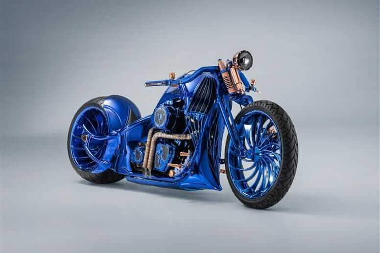 Harley-Davidson Blue Edition